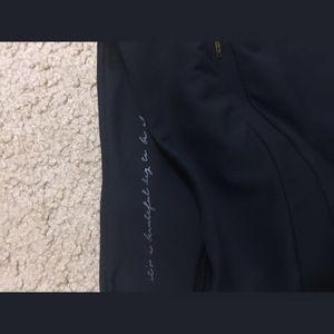 Gymshark X Whitney Simmons black leggings
